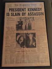 Historic Newspapers collection Hammond Indiana Times. JFK, Saddam, Bin Laden