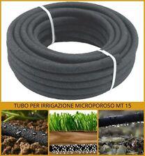 Tubo per irrigazione poroso da prato orto giardino microforato interro interrata