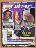Guitar Magazine - Apr 1991 Steve Morse Hendrix Jason Becker David Lee Roth +