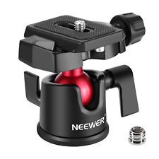 Neewer 360 Degree Panoramic Ballhead  Ball Head for Camera Video Tripod Momopod