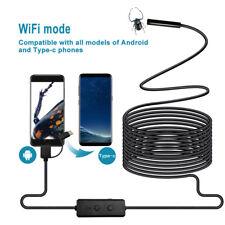 8LED IP67 Wifi boroscopio inspección cámara HD para Teléfono iOS Android Endoscopio