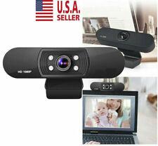 1080P Usb Webcam Video Camera Web Cam With Mic For Computer Pc Desktop Laptop