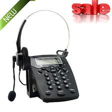 Call Center Dialpad Corded Headset Telephone work / Magic Jack Plus/VOIP adapter