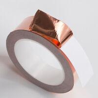 Guitar Conduction Tape Electric Shielding Foil 20m 3-50mm Repel Copper Adhesive