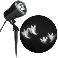 LightShow LED Halloween Chasing White Ghosts Strobing Spotlight Whirl-a-Motion