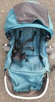 Baby Jogger City Select Second Seat Blue Seat Only Good Condition