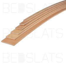 CHEAPEST ON  NEW REPLACEMENT WOOD BED SLATS 53mm WIDE X 10mm THICK