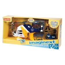 Imaginext Ocean Helicopter & Cycle Gift Set by Fisher-Price Exclusive Edition