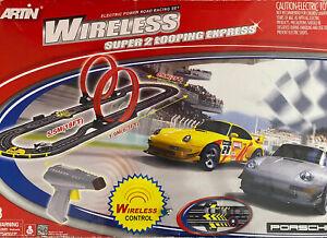 Artin Wireless 1:43 super looping express slot car set.