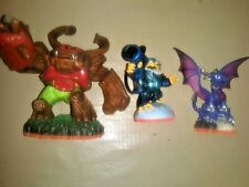 Skylanders Giants Playstation Activision Figure lot Cynder Jet-vac Tree Rex Card