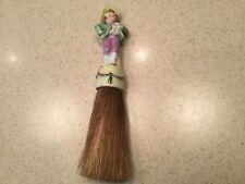 Vintage Porcelain Whisk Broom Clothes Brush Hansel Germany Used