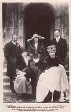 ROYALTY :   Christening of George Henry Hubert Lascelles  RP-BEAGLES