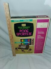 VINTAGE - SEARS TELE-GAMES PONG SPORTS IV -  CONSOLE GAME SYSTEM - ATARI - NICE!