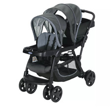 Baby Stroller Double seat, pushchair travel buggy, twin pram system, folding new