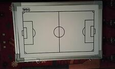 "Dry Erase Magnetic Soccer Coach Board 10"" x 16"" One Sided"