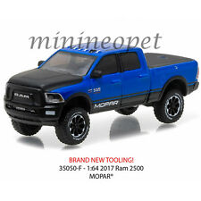 GREENLIGHT 35050 F ALL TERRAIN 2017 DODGE RAM 2500 MOPAR PICK UP TRUCK 1/64 BLUE