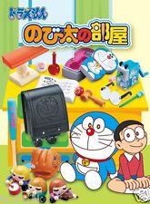 Re-ment Miniature Doraemon Nobita's Room School Stationery rement  Full set of 8
