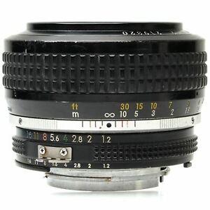 Nikon AI 50mm f1.2 Nikkor Lens