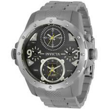 Invicta Para hombres Reloj U.s. Army Cronógrafo Pulsera de titanio de tono plata 31970