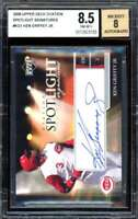 Ken Griffey Jr Card 2006 Upper Deck Ovation Signatures #KG1 BGS 8.5