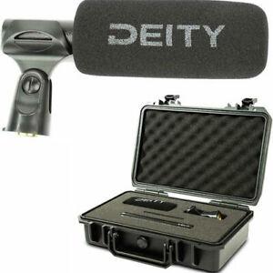 Deity S-Mic 2S Shotgun Microphone Super Cardioid Pickup off-axis Broadcast USA