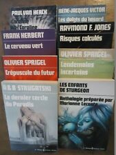 LOT LIVRE LE MASQUE SCIENCE-FICTION SPRIGEL HERCK JONES K.DICK ANTICIPATION 1975