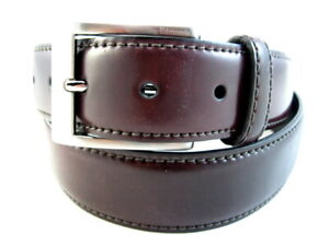 "NEW Allen Edmonds ""CORDOVAN AVE"" Dress Belt  #1016575 Size 34 Oxblood (508)"