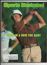 A Sports Illustrated Magazine ~ Gary Player May 1 1978 ~ Golf Three in a Row