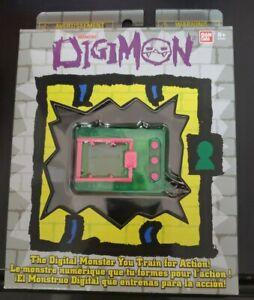 NEW Digimon 20th Anniversary Tamagotchi Digivice Digital Pet Green/Pink Bandai