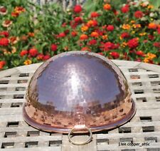 """Havard Hammered Copper 9"""" Mixing/Whisking Bowl, Made in France"""