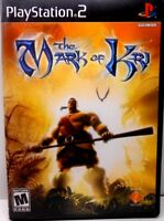 The Mark of Kri (Sony PlayStation 2, 2002) PS2 Complete, TESTED, Fast Shipping