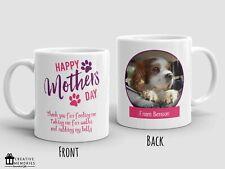 Personalised Mothers Day Mug Cup - Dog Photo Mug - From the dog