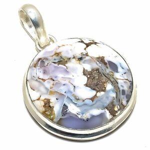 "Dendrite Opal Gemstone Handmade Ethnic  Jewelry Pendant 1.6"" DS-3139"