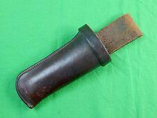 Vintage H.H. Heiser 916 Revolver Leather Holster Case