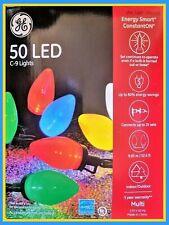 3 Sets of GE Energy Smart ConstantON LED C9 Multicolor Light Set, 50 Count