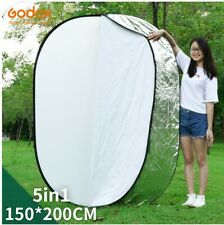 """GODOX 59""""x79"""" 150 x 200cm 5 in 1 Portable Collapsible Light Round Photography"""