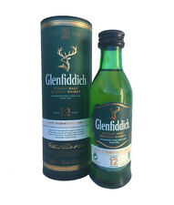 WHISKY BOTTLE GLENFIDDICH 12 YEARS MINIATURE EDITION 3 RARE (BOXED) · (5cl, 40%)