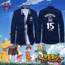 Digimon Adventure 15th Complete Selection Digivice T Shirt New Long Sleeves Cos