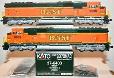 BNSF 9838 SD70MAC Heritage II Cab Headlight Kato HO  37-6403 F26.1