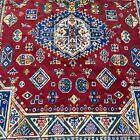 "Stunning Traditional Art Silk Rug 58"" x 90"" Red - Wall Hanging"