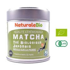 Thé Matcha Bio Japonais | Cérémonie Vert en Poudre | Green Tea Produit au Japon