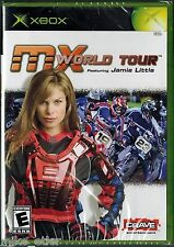 MX World Tour Featuring Jamie Little (Xbox, 2005) Factory Sealed