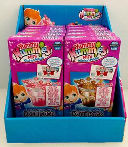 2 x Yummy Nummies Mini Kitchen Magic Soda Shop Maker Refils - Read Description