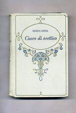 Enrico Ardel # CUORE DI SCETTICO # Salani Editore 1932
