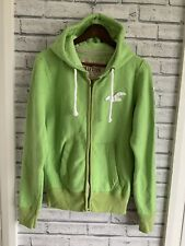 Hollister Men's Size S Lime Green Zipped Top .....