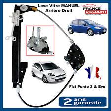 Mécanisme lève-vitre arrière droit passager Fiat Punto III Punto Evo = 51723323