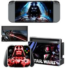 Darth Vader Star Wars Vinyl Skin Nintendo Switch Console Joy-Con Dock Decal Set