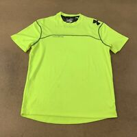 Under Armour Men's Size Medium LOOSE Bright Yellow Combine Athletic Shirt *Flaw*