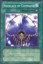 YU-GI-OH CARD: NECKLACE OF COMMAND - YSDJ-EN027 -1st ED