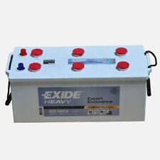 EXIDE HEAVY ED1803 12V 180AH Starterbatterie für LKW Busse Bau & Landw. Masch.